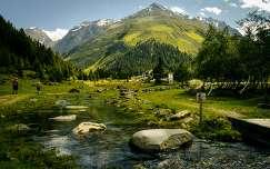 Mittagskogel, Mittelberg,Pitztal, Tirol, Ausztria