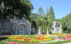 Miskolc-Lillafüred, Függőkert, a virágok terasza