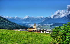 Tirol,h�tt�rben Innsbruck l�tk�pe