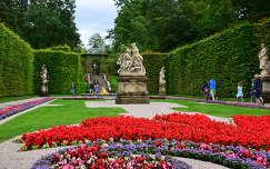 Linderhofi kastély parkja,Ausztria