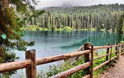 Karer-tó dél-Tirolban