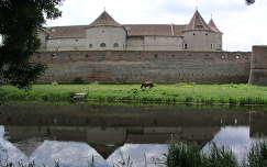 A fogarasi vár Erdélyben