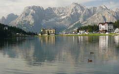 Misurina tó (Dolomitok)