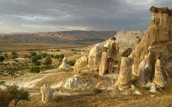 Tájkép Göreme közelében, Cappadocia, Turkey