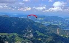 alpok hegy siklóernyőzés