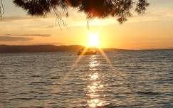 Makarska - naplemente