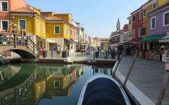 utcakép, Burano, Olaszország