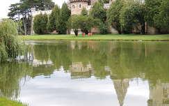 Laxenburgi kastély tükörképe,Ausztria