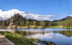 USA - Custer Nemzeti Park - Sylvan Lake