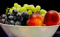 Gyümölcsös-tál