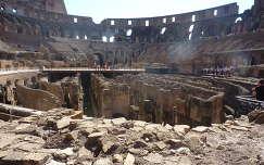 Colosseum, a küzdőtér alatti rész