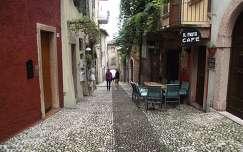 Marcesine utca-részlet, Garda-tó