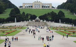Bécs,Schönbrunni kastély parkja