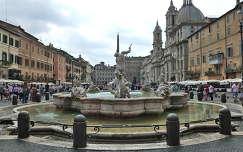 Szökőkút  Rómában