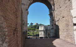 Róma, kilátás a Colosseumból