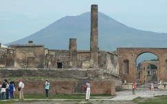 Pompei romjai a Vezúvval, Olaszország