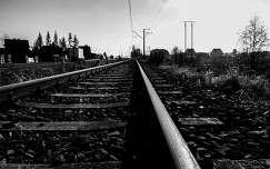 Szaflari melletti vasút