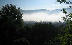 Jánosi Sándorné: Visegrád ködben