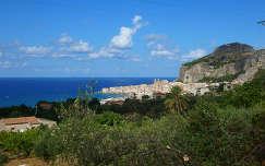 Útban Cefalu felé, Szicília