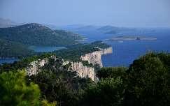 Horvátország- Dugi Otok szigete : Telascica