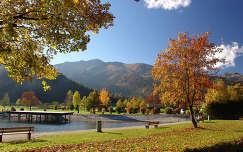 Ausztria, Achensee ősszel