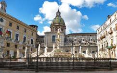 Szökőkút Palermo, Szicília