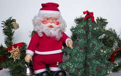 mikulás karácsonyi dekoráció