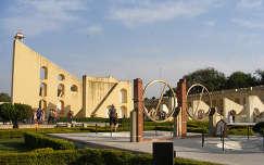 Jaipur - Jantar Mantar (obszervatórium)