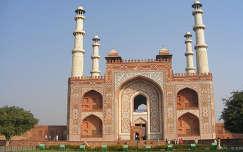 Sikandra - Nagy Akbar mauzóleum
