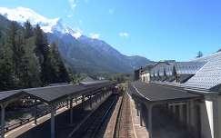 Chamonix, Franciaország vasútállomás