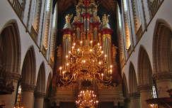 HAARLEM - HOLLAND , ST.BAVO CHURCH