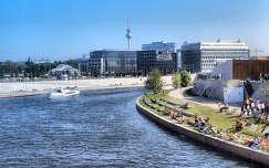 Németország - Berlin - Spree folyó