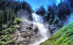 Ausztria - Krimml vízesés