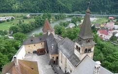 Kilátás Árva várából, Szlovákia