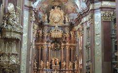 Melki Apátság templombelső,Ausztria