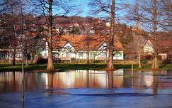olvadás után - Balatonalmádi Öreg park