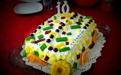 édesség torta névnap és születésnap