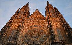 Szt. Vitus templom, Prága, Csehország