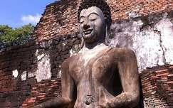 Thaiföld,Buddha-szobor,Sukhothai