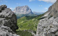 hegy út alpok világörökség dolomitok kövek és sziklák olaszország