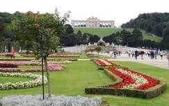 Bécs,Schönbrunni kastély kertje,Ausztria