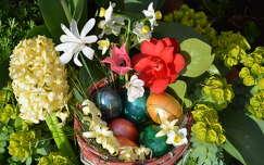 húsvét jácint tojás