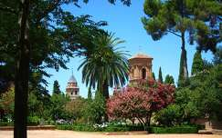 GRANADA-SPAIN, The Gardens of the Alhambra