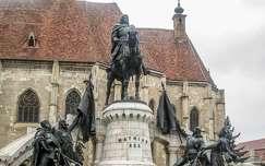Kolozsvár, Mátyás király szobra