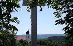 Tihany, Látkép a Kálvária dombról