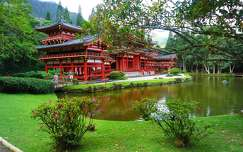 Hawaii, Byodo in temple
