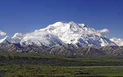 Mount McKinley , Denali Nemzeti Park, Alaszka