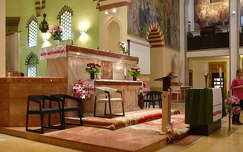 Pécs - Gázi Kászim pasa dzsámija vagy Belvárosi Gyertyaszentelő Boldogasszony-templom - belső