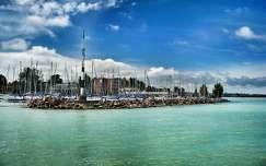 Siófok, kikötő