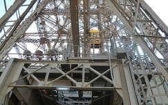 Felvonó az Eiffel toronyban